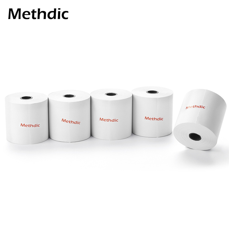 Methdic 3 1/8 X 230 Thermal Paper For Cash Register Pos Printer Thermal Paper Thermal Roll Paper