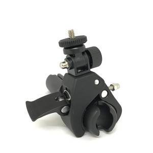 Image 4 - For Gopro Camera HandleBar Mount Tripod Adapter Bike Bicycle Motorcycle 1 inch Ball Mount Clamp for Gopro Cellphones