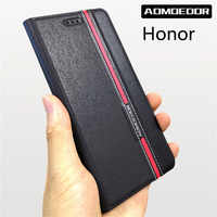 Case for huawei honor view 6a 6c 7a 7c 7s 8 8x 8a 8s 8c 9 9i 10 10i 20 lite 20i pro play Ultra thin Leather flip cover cases