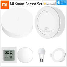 2020 Xiao Mi Mi Jia Mi Smart Sensor Set Mi Thuis App Afstandsbediening Mi Controle Hub 2 Led Lamp downlights Thermo-Hygrometer 2 Xio Mi(China)