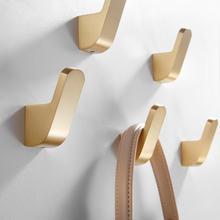 Настенный крючок из латуни крючки для полотенец ванной комнаты
