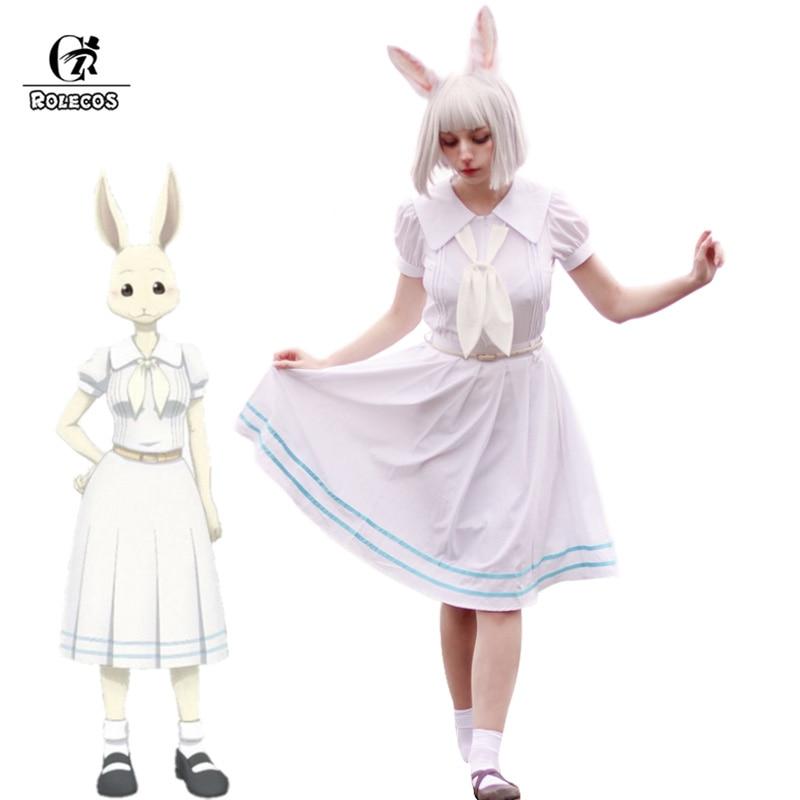 ROLECOS ours Anime, Costume de Cosplay, uniforme scolaire pour femmes, Costume uniforme japonais pour fille lapin
