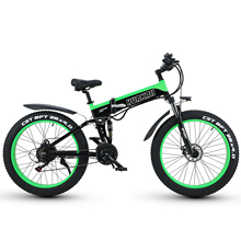 350W Electrical Bicycle Foldable 26 Inches Fats Tire 48V 13AH Aluminum Alloy Body Shock Absorbers Bike LCD Show Mountain Ebike