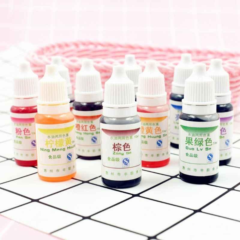 Tingimento pigmento lodo cristal lama resina uv tingimento óleo de água duplo uso pigmento diy artesanato