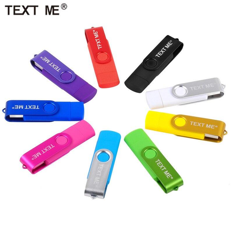 OTG USB2.0 64GB Usb Flash Drives OTG Pen Drive Pendrive Usb Stick 4GB 8GB 16GB 32GB PS/Android