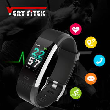 ID115HR PLUS Smart Bracelet Sports Wristband With Heart Rate Monitor Fitness Tracker Band Watch for Xiaomi