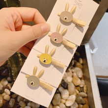 New Arrival Fashion Cute Animals Style Hair Clips Rabbit Shaped Ears Accessories For Women Girls Kids