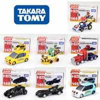 Tomica coche en miniatura de aleación Batman batimóvil dinosaurio Super Mario Pikachu de la motocicleta modelo juguetes para los niños regalos de cumpleaños