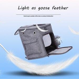 Сетчатый рюкзак SandyFloyd на молнии, дышащая сумка для собак, розовая переноска для собак, уличная дорожная сумка-переноска, переносная сумка дл...