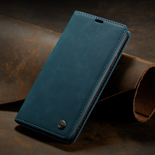 CaseMe For iPhone 11 Pro Max Retro Magnetic Flip Wallet Luxury Leather Stand Case Apple XS XR X Cover