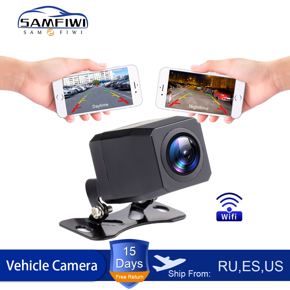 2020 NEW Wireless Car Rear View Camera WIFI Reversing Camera Dash Cam HD Night Vision Mini Body Tachograph for iPhone  amp  Android