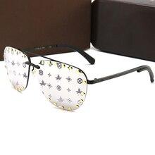 Punk Sunglasses Vintage Luxury Brand Pilot Feminino Women UV400 Oculos Lentes Gafas-De-Sol