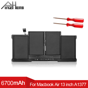 PINZHENG A1377 Laptop Battery For MacBook Air 13 Inch A1369 Mid 2011 A1405 A1466 2012 Mid 2013 A1496 2015 Replacement Bateria