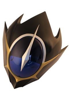 Anime CODE GEASS Lelouch of the RE:surrection Lelouch Lamperouge Helmet For Cosplay Lelouch Mask With Arylic Visor Party Props 6