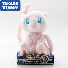 TAKARA TOMY Pokemon Pocket Monster Plush Dolls Model Mew Pillow Children Birthday Gift Collections