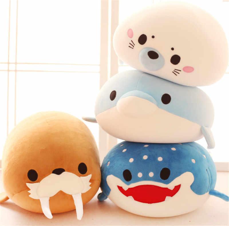 Caldo Super Cute Peluche Giocattolo Morbido Mare Animale Delfino Balena Nano Bambola Di Compleanno Regalo Di Natale Del Fumetto Molle Farcito Bambola Classico