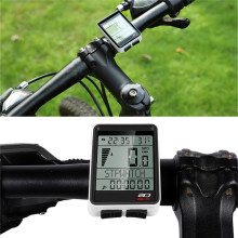 WEST BIKING 2.1 Large Screen Bicycle Computer Wireless Wired Bike Computer Speedometer Odometer Stopwatch Cycling Accessories sahoo 81488 multi functional wired water resistant stopwatch odometer blue white