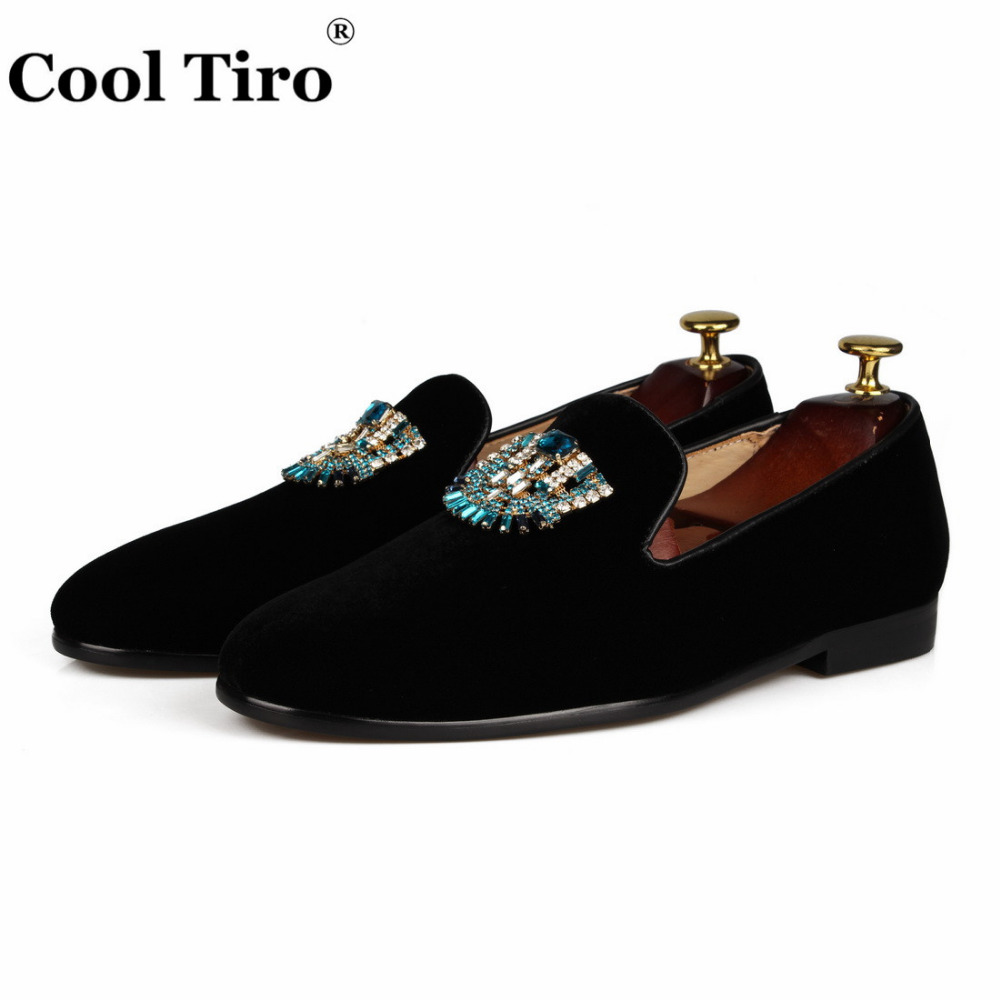 VELVET Loafers SLIPPERS with Crystal brooch (3)