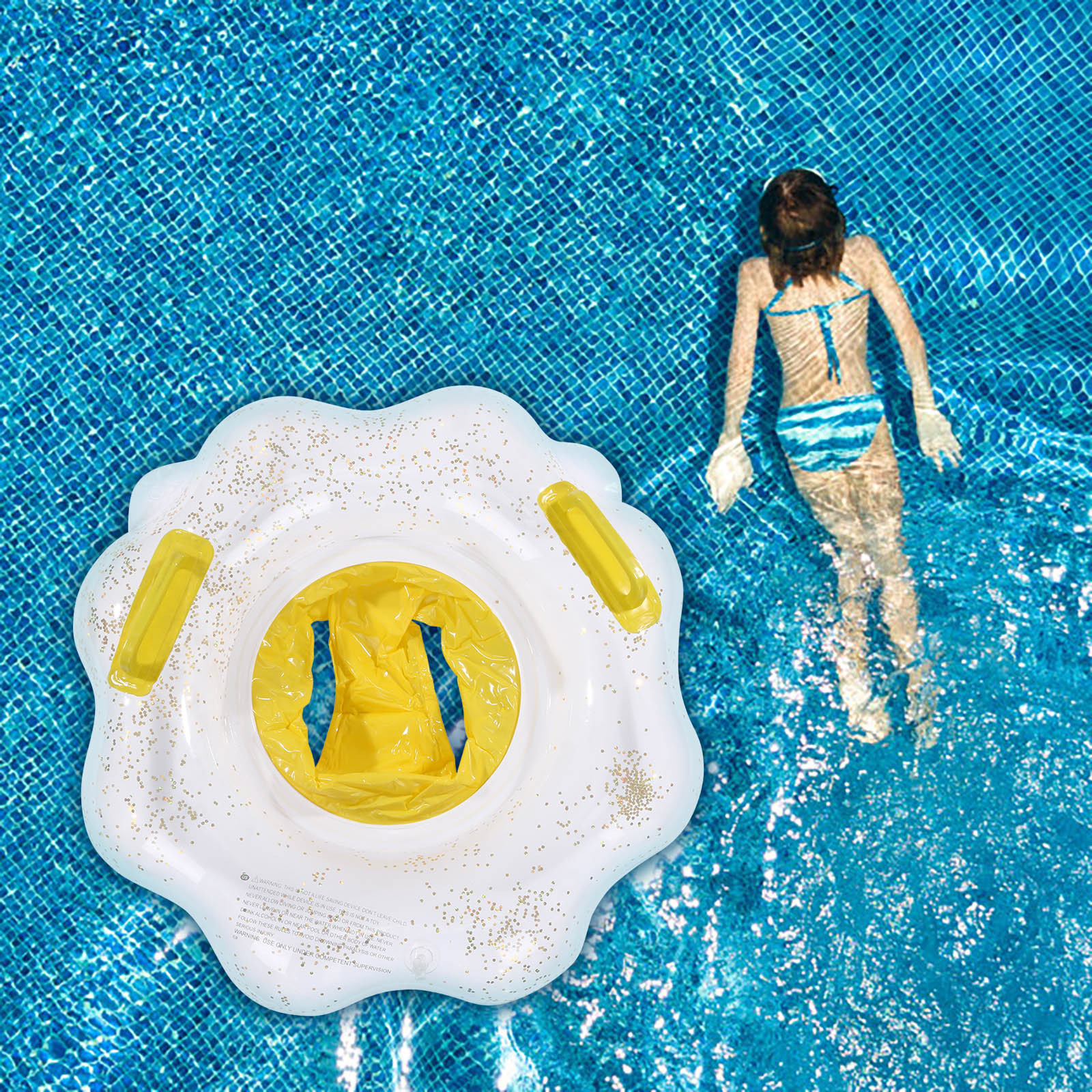 Cloud Swimming Ring for Kids PVC Inflatable Swimming Ring Summer Outdoor Swimming Pool Floats Kids Swimming Toys 70x80cm