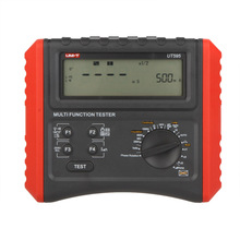 UNI-T UT595 RCD Phase Consequence Loop/Line Impedance Insulation Resistance Earthing Continuity Multifunction Meter Tester цена 2017