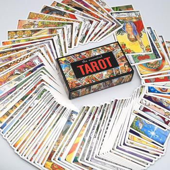 Tarot Cards Deck 78pcs The Essential Tarot Playing Card Board Game Divination Tarot Table Cards Playing Card Games недорого