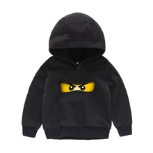 2-10Years 2019 Boys Hooded Clothes Legoes Hoodie Baby Ninjago Boy Tops Long Sleeves Children Autumn Toddler Shirts