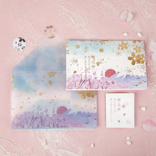 1pack/lot Lovely Sulfuric Acid Paper Envelope Greeting Card Wedding Invitation Gifts Bag Office Supplies
