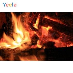 Image 2 - Yeele камин гостиная огненные обои жизненные фотографии фоны персонализированные фотографические фоны для фотостудии