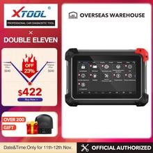 أداة تشخيص XTOOL EZ400pro OBD2 أداة ماسح ضوئي لقارئ شفرة السيارات فاحص مفتاح مبرمج وسادة هوائية ABS SAS EPB DPF وظائف زيت