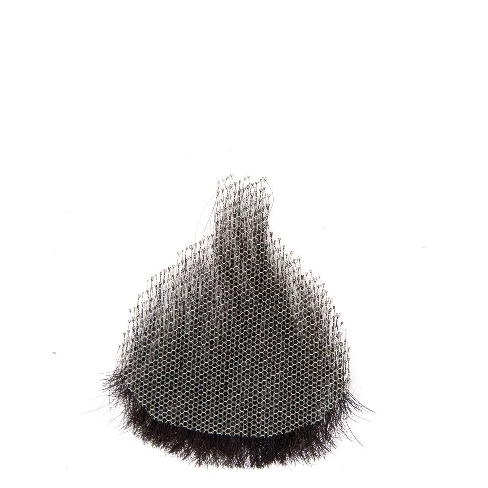 Liangmo falso bigode feito à mão, cabelo
