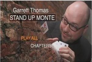 Stand-Up Monte by Garrett Thomas Magic tricks gypsy queen by asi wind magic tricks