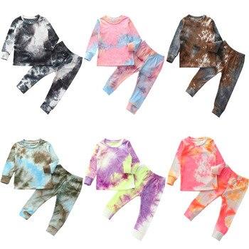 Tie Die Matching Pajama Set 1