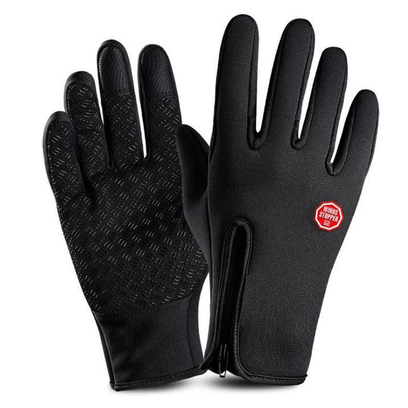 Pro Winter Warm Ski Gloves Unisex Cycling Gloves Waterproof Snowboard Motorcycle Winter Touch Screen Snow Windstopper Gloves