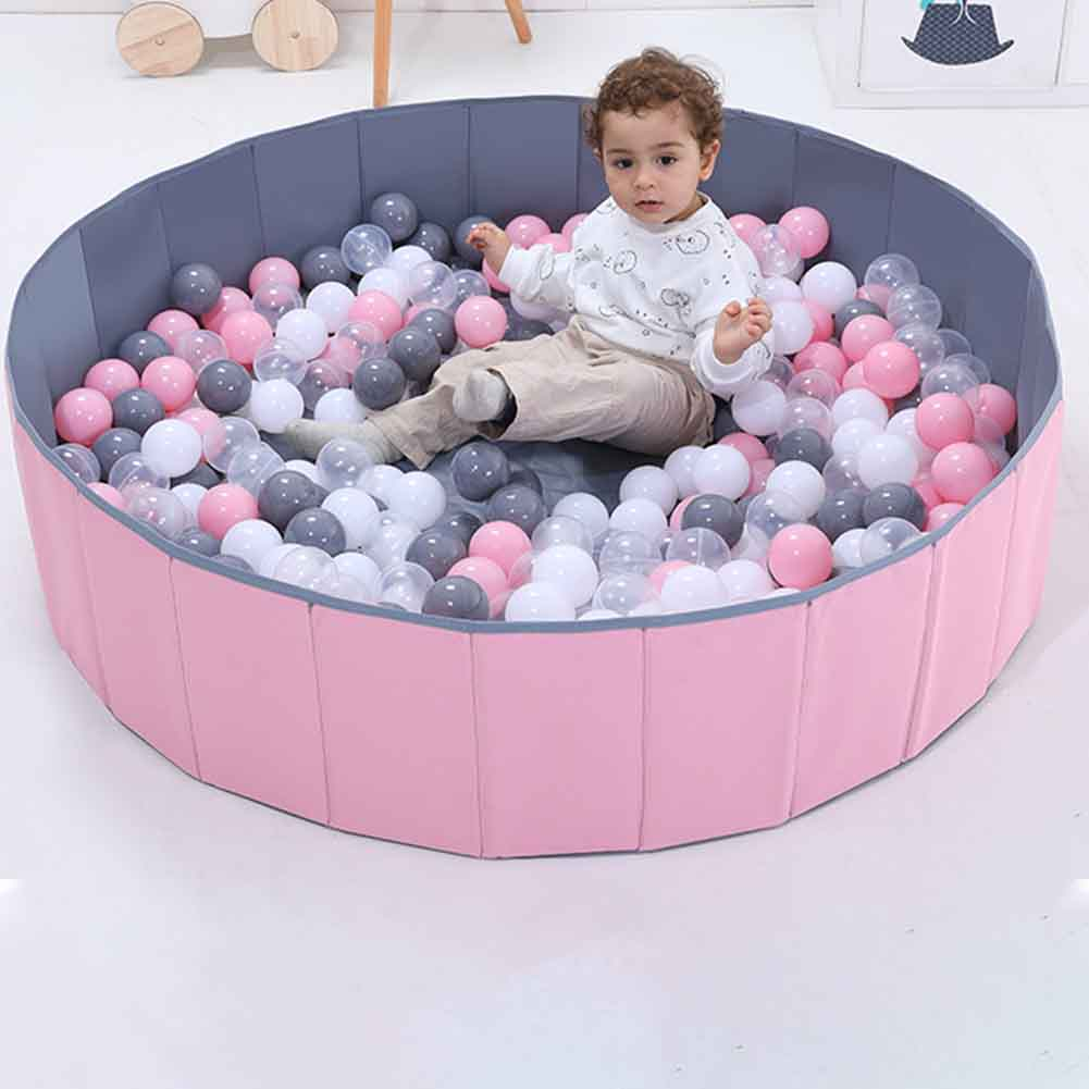 Kids Play Baby Ball Pool Room Decor Yard Soft Fence Washable Round Tent Safety Indoor Outdoor Foldable Playpen Portable Infant