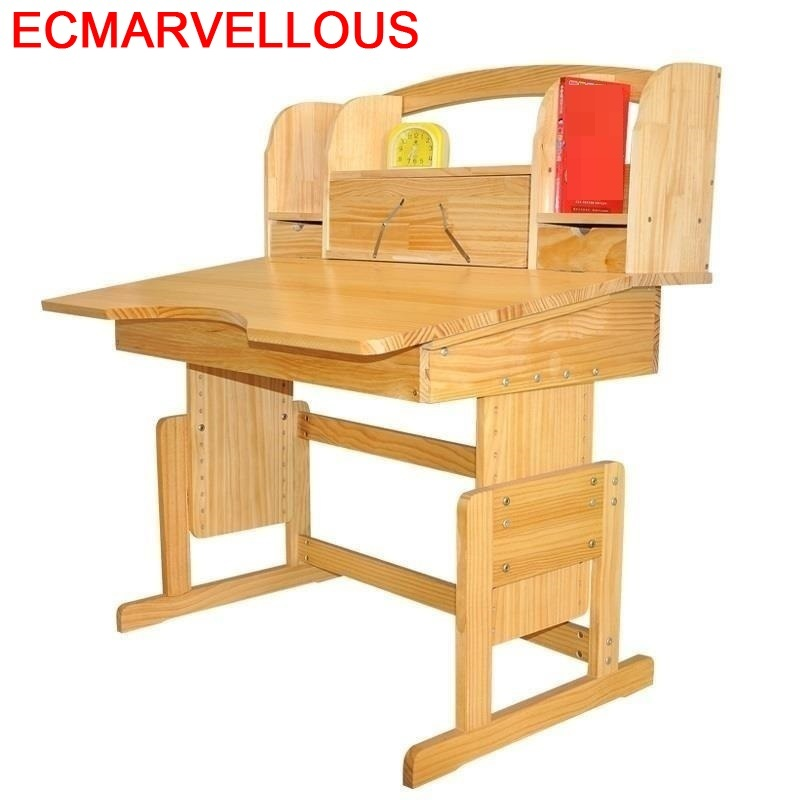 Cocuk Masasi Tavolino Kinder Tafel Tavolo Bambini Estudar Furniture Estudiar Wooden Desk Mesa Enfant Escritorio Kids Study Table