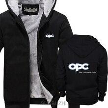 Opel motorsport jaqueta racinger gt opc desempenho centro inverno dos homens com capuz superior jaqueta topos grosso hoodies sbz4556