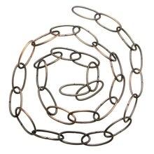 Cadena pesada de 1M para lámpara colgante de araña Vintage