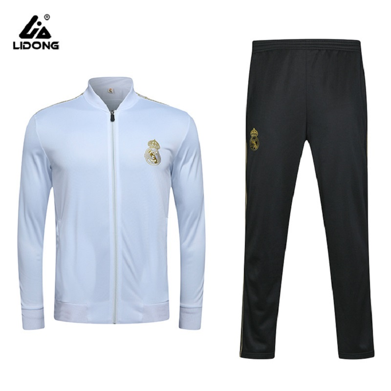 Customizable Barcelona Football Club Football Uniform Juve Sports Set Real Madrid Chelsea Children Adult Training Suit Coat Men'