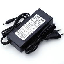 2019 Liitokala 12,6 V 5A 3A 1A Lithium Batterie Ladegerät 3 serie lithium Cbattery 12V batterie ladegerät + UNS EU AC power kabel