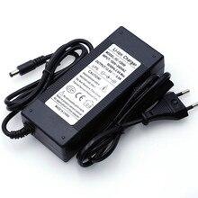 2019 Liitokala 12.6V 5A 3A 1A  Lithium Battery Charger 3 series lithium Cbattery 12V battery charger+US EU AC power cord