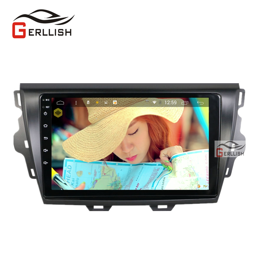 9inch Android IPS 2.5D Car Radio For Great Wall C30 Car Stereo Radio Audio DVD GPS Player Navigation With Maps