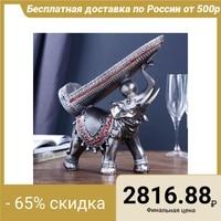 Souvenir polystone bottle holder Slate elephant 29.5х29х10 cm