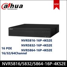 Dahua-ciseleur vidéo réseau 2U 16PoE | NVR,, 16/32/64 canaux, 16PoE, 4k & H.265 Pro, enregistreur vidéo