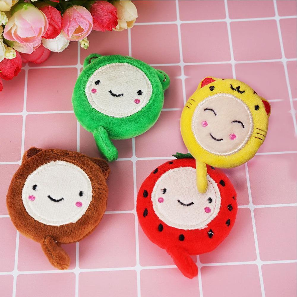 150cm 60 Inch Cute Cartoon Plush Retractable Ruler Sewing Tool Tape Measures Sewing Tailor Dieting DIY Ruler