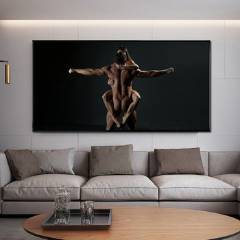 Posters and Prints Modern Wall Art Canvas Painting Sexy Body Dancer Black Pictures for Living Room Cuadros Home Decor No Frame modern nordic elegant ballet dancer canvas painting wall art posters and prints for living room wall pictures home cuadros decor