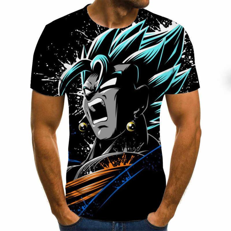 Dragon Ball Jongen 3D Gedrukte T-shirt Korte Mouw Unisex Zomer Dragon Ball Z T-shirt Camiseta Mannelijke Merk tee