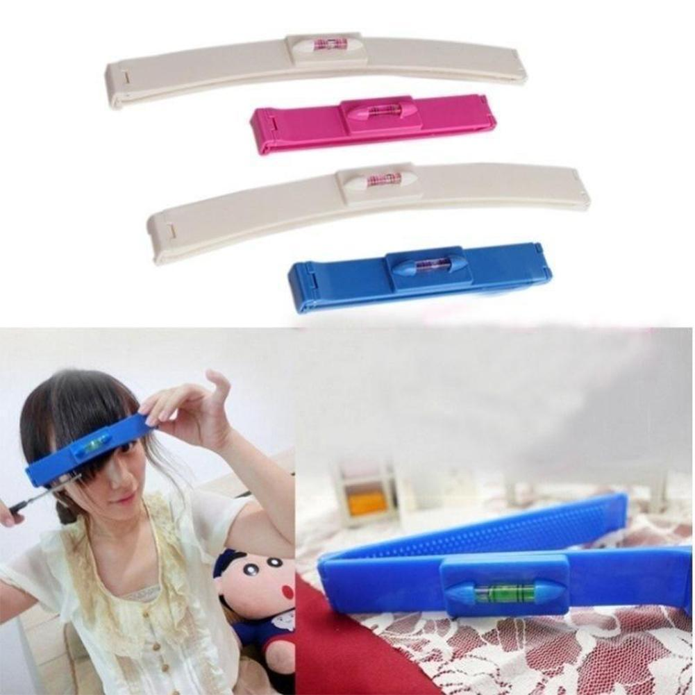 2 Colors DIY New Women Hair Trimmer Fringe Cut Tool Accessories Hair Level Comb Bang Clipper Guide Ruler For Cute Hair Clip Z6V9