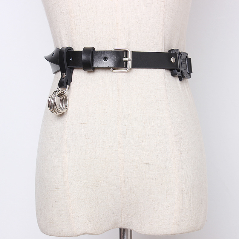 2020 High Fashion Solid Hot Sale Stylish Belt Leather Corset Belt New Design Waistband Female Tide Belts For Women Trendy ZK811