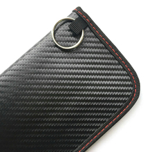 Carbon Fiber Anti-Theft Car Key Cover Case RFID Signal Blocker Blocking Pouch Bag Protector car accessories