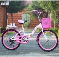 중학교 학생 접이식 속도 자전거 여성 18/20/22/24 인치 통근자 자전거 성인 자전거 자전거